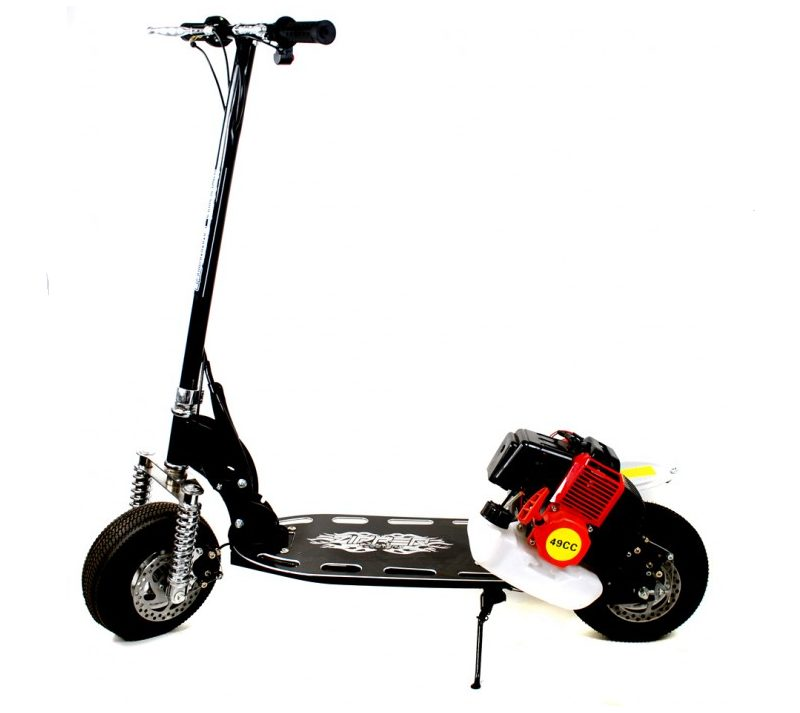 49cc Deluxe Micro Petrol Scooter