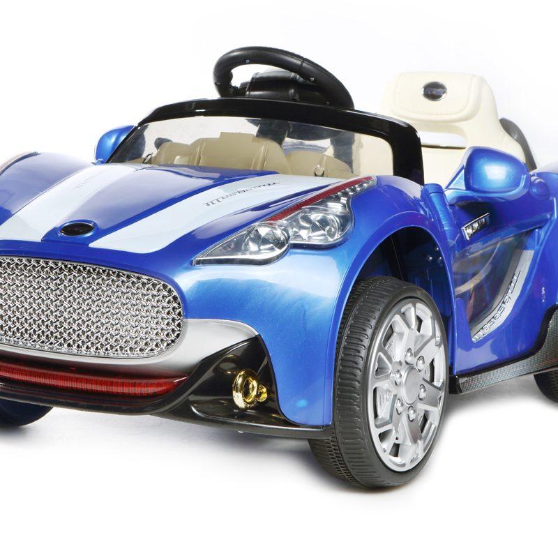Blue GT Roadster- 12V Kids' Electric Ride On Car