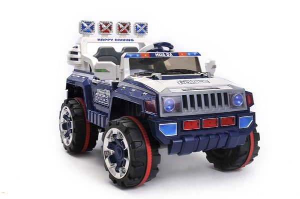 Battery Powered - 12V Opening Door 2 Seater Jeep (Blue)