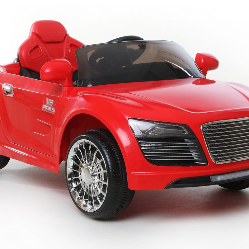 Red R8 Roadster - 12V Kids' Electric Ride On Car