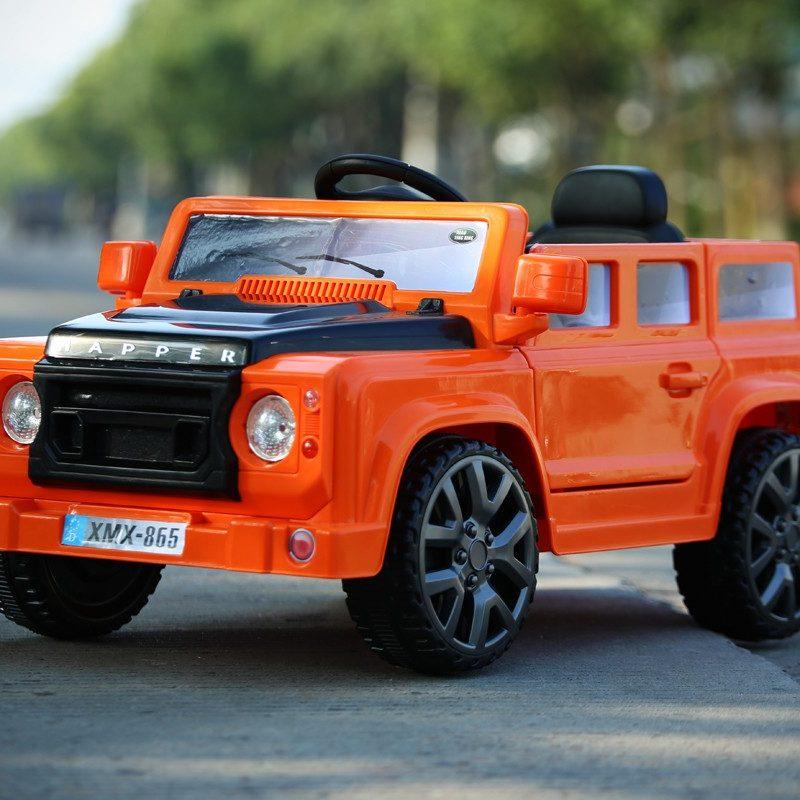 Orange 4x4 Defender Off Roader - 12V Kids' Electric Ride On Car