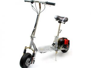 Budget 49cc Petrol Micro Scooter With Suspension
