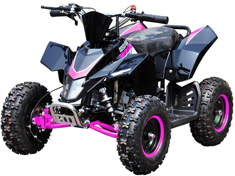 Hi Per 49cc Sx Racing Style Kids Quad Bike – Pink- Electric Start