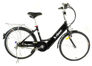 "Z5 City Deluxe Electric Bike 24"" - Midnight Blue"