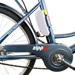 "Z3 City Electric Bike 24"" - Steely Blue-Electric Bike"