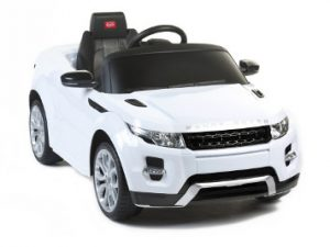 Battery Powered - 6V Kids White Range Rover Evoque Ride On