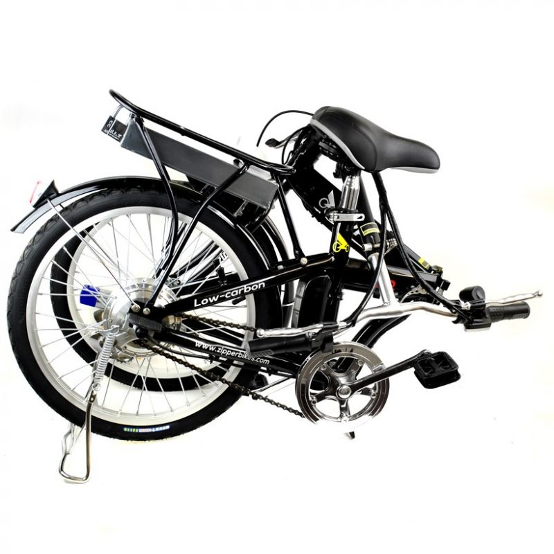 "Z2 Compact Folding Electric Bike 20"" - Onyx Black"