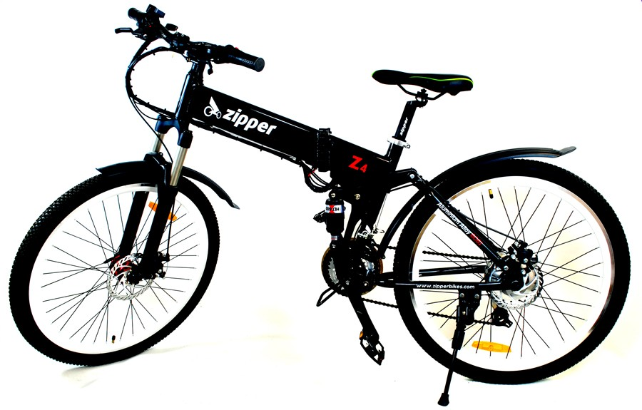 Z4 21-Speed Folding Electric Mountain Bike 26