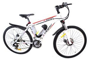 "Zipper Z6 21-Speed Ultimate Edition Electric Mountain Bike 26"" -"